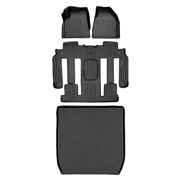 SMARTLINER Custom Fit for Traverse/Enclave with 2nd Row Bucket Seats - Smartliner USA