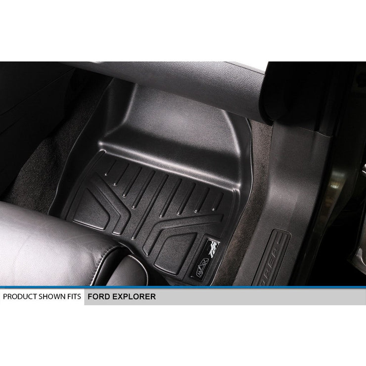 SMARTLINER Custom Fit for 2011-2014 Ford Explorer (with 2nd Row Center Console) - Smartliner USA