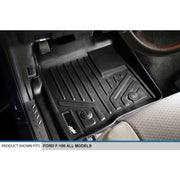 SMARTLINER Custom Fit for 2011-2014 Ford F-150 SuperCab with Flow Center Console - Smartliner USA
