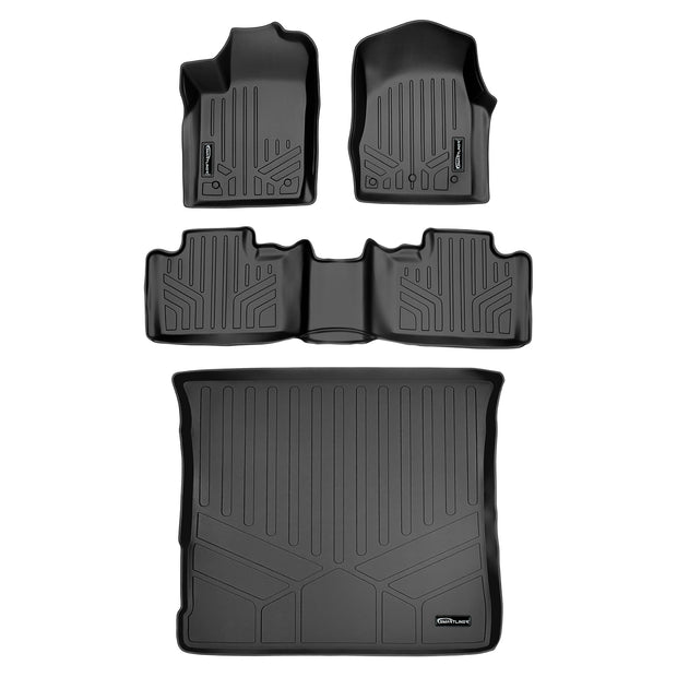 SMARTLINER Custom Fit for 2013-2016 Jeep Grand Cherokee (without 2nd Row Center Console) - Smartliner USA