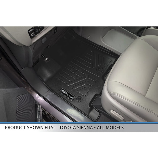 SMARTLINER Custom Fit for 2013 2020 Sienna 7 Passenger Model with Power Folding 3rd Row Seats - Smartliner USA