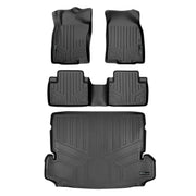 SMARTLINER Custom Fit for 2014-2019 Nissan Rogue (with 3rd Row Seats) - Smartliner USA