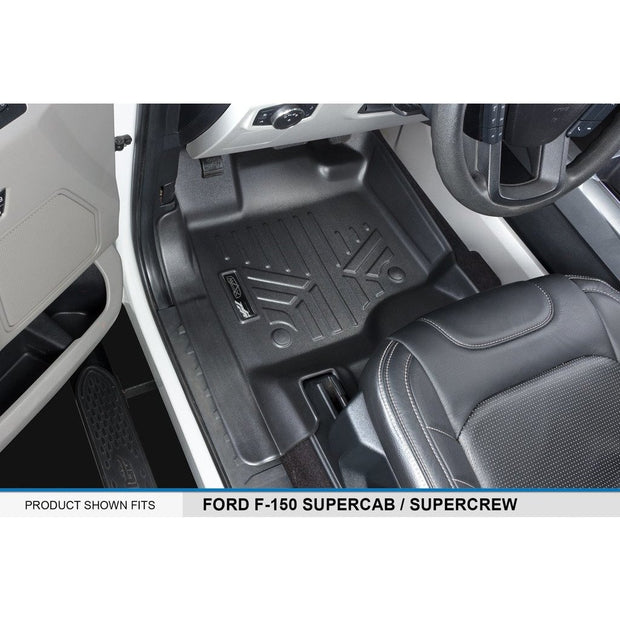 SMARTLINER Custom Fit for 2015-2021 Ford F-150 SuperCrew Cab with 1st Row Bucket Seats