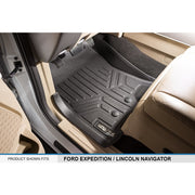 SMARTLINER Custom Fit for 11-17 Expedition/Navigator with 2nd Row Bucket Seats (No Console) - Smartliner USA