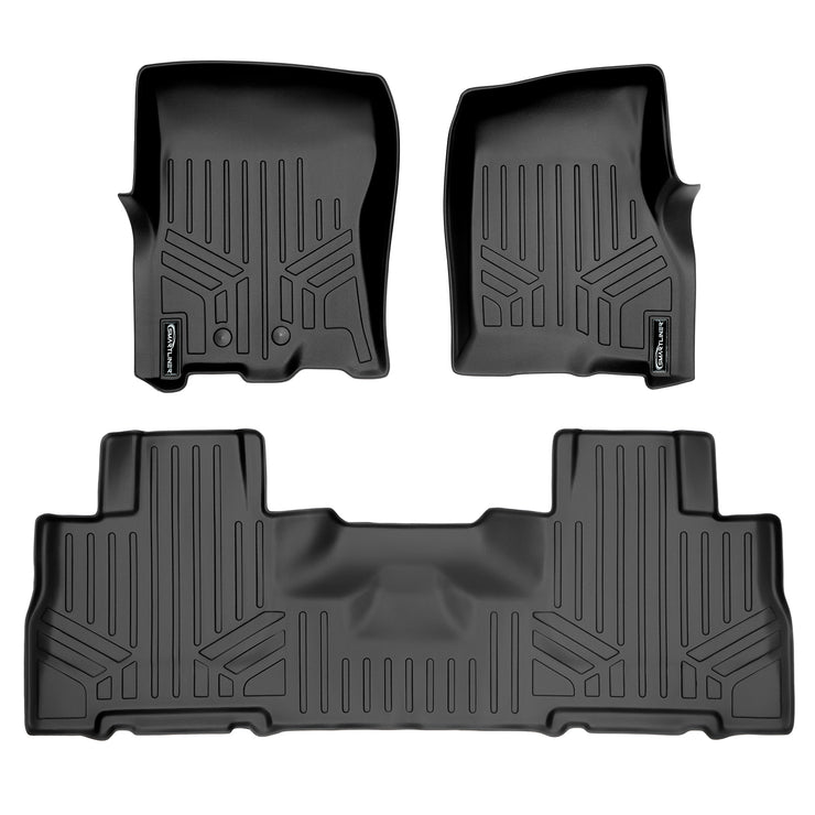 SMARTLINER Custom Fit for 2011-17 Expedition EL/Navigator L with 2nd Row Bucket Seats (without Console) - Smartliner USA