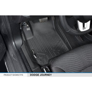 SMARTLINER Custom Fit for 2012-18 Dodge Journey (with 1st Row Dual Floor Hooks) - Smartliner USA