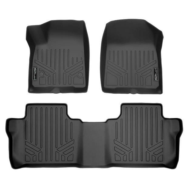 SMARTLINER Custom Fit for 2017 2020 GMC Acadia with 2nd Row Bench Seat - Smartliner USA