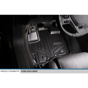 SMARTLINER Custom Fit for 2017-2019 Ford Explorer without 2nd Row Center Console - Smartliner USA