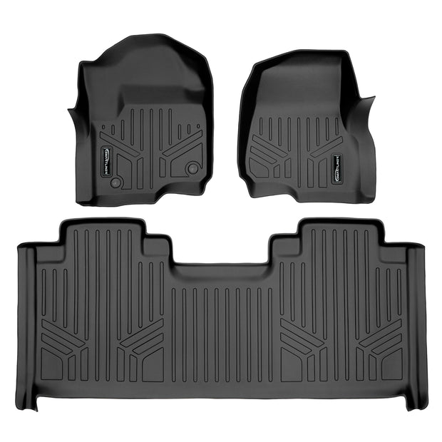 SMARTLINER Custom Fit for 2017-2020 Ford F-250/F-350 SuperCab with 1st Row Bucket Seats