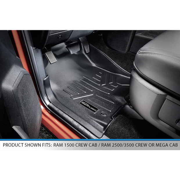 SMARTLINER Custom Fit for 2012-2018 RAM 1500/2500/3500 Crew Cab (4 Full Size Doors) - Smartliner USA