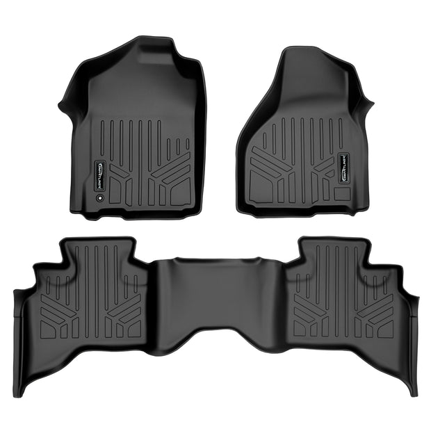 SMARTLINER Custom Fit for 2009-2012 Dodge Ram 1500 Quad Cab (2 Smaller Rear Doors) - Smartliner USA