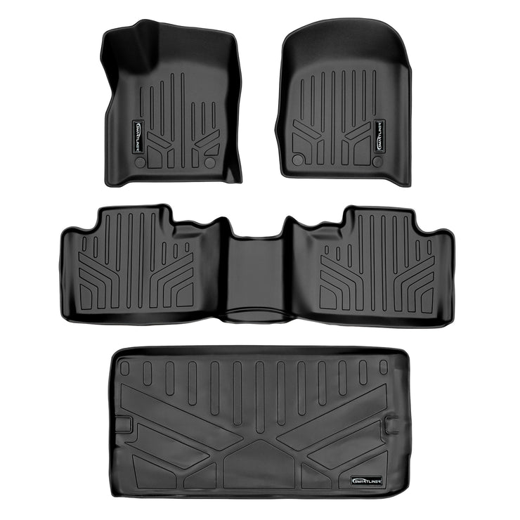 SMARTLINER Custom Fit for 2016-2020 Dodge Durango (with 2nd Row Bucket Seats) - Smartliner USA