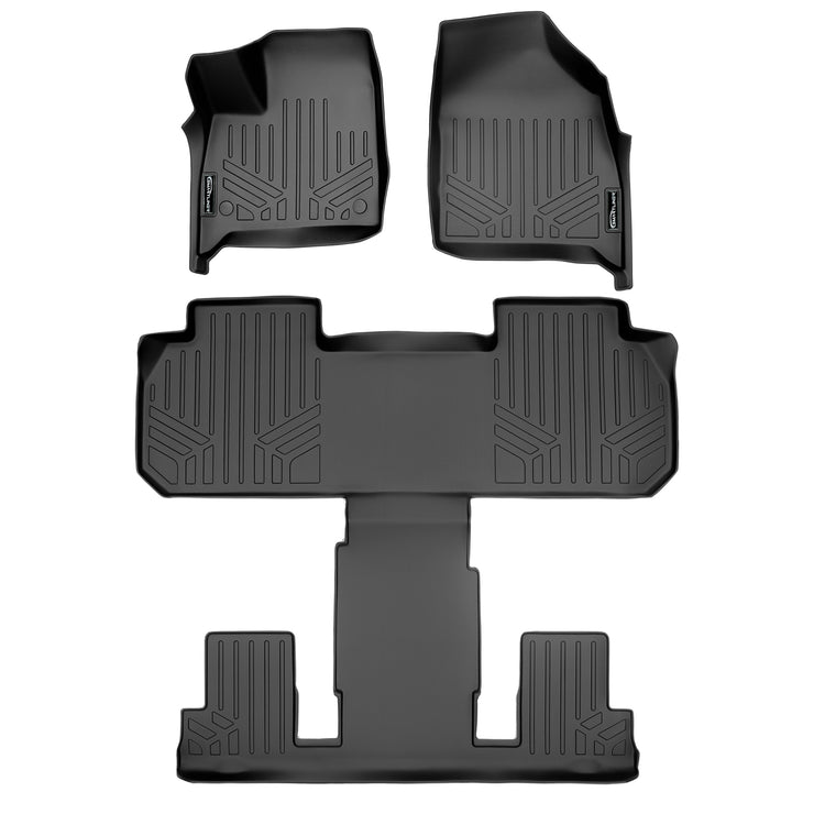 SMARTLINER Custom Fit for 2018 2020 Buick Enclave with 2nd Row Bucket Seats - Smartliner USA