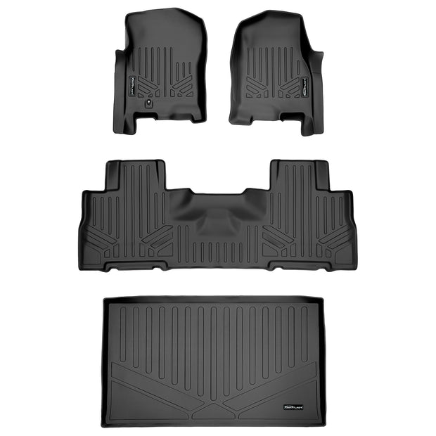 SMARTLINER Custom Fit for 2007-2010 Expedition EL / Navigator L (with 2nd Row Bucket Seats) - Smartliner USA