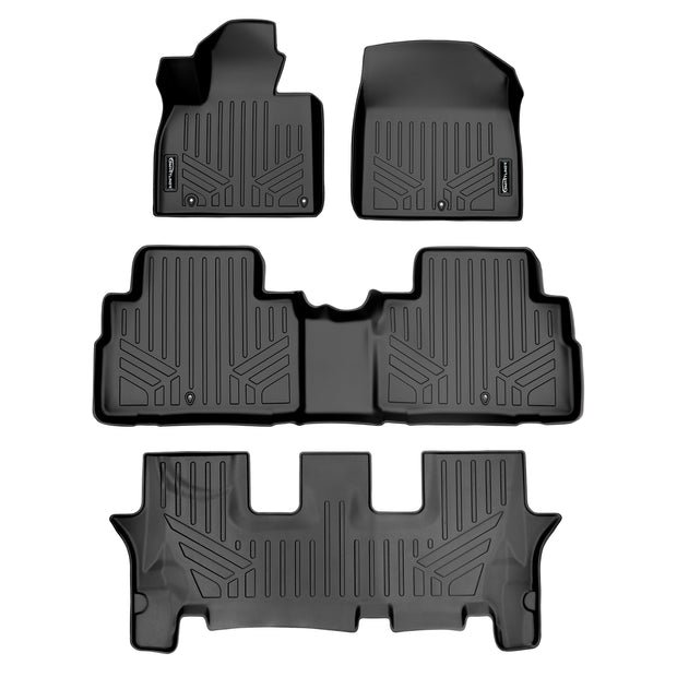 SMARTLINER Custom Fit for 2020 Kia Telluride with 2nd Row Bench Seat - Smartliner USA