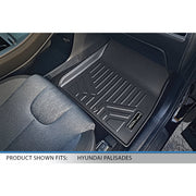 SMARTLINER Custom Fit for 2020-2021 Hyundai Palisade with 2nd Row Bucket Seats No Center Console and No In Between Coverage