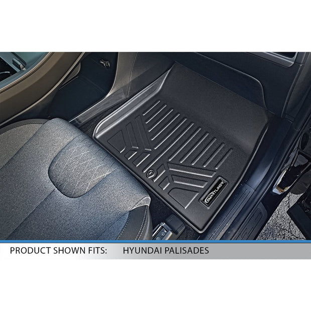SMARTLINER Custom Fit for 2020-2021 Hyundai Palisade with 2nd Row Bench Seat