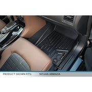 SMARTLINER Custom Fit for 2019-2021 Infiniti QX80/ 2019-2021 Nissan Armada No Bucket Seats & Center Console Only