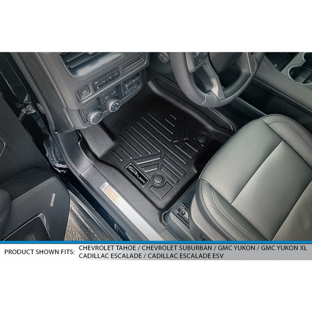 SMARTLINER Custom Fit for 2021 Cadillac Escalade ESV with 2nd Row Bench Seat