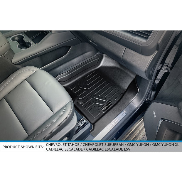 SMARTLINER Custom Fit for 2021 Chevrolet Tahoe/GMC Yukon with 2nd Row Bench Seat