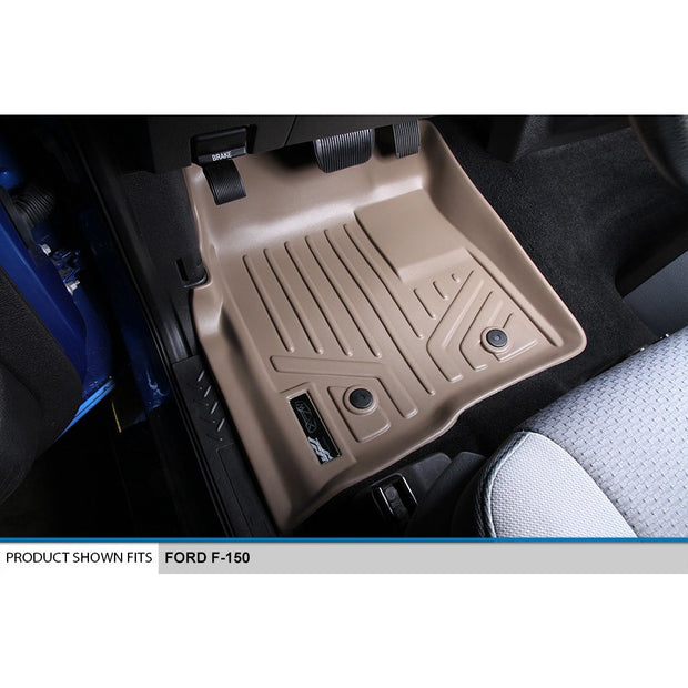 SMARTLINER Custom Fit for 2011-2014 Ford F-150 SuperCab Non Flow Center Console - Smartliner USA