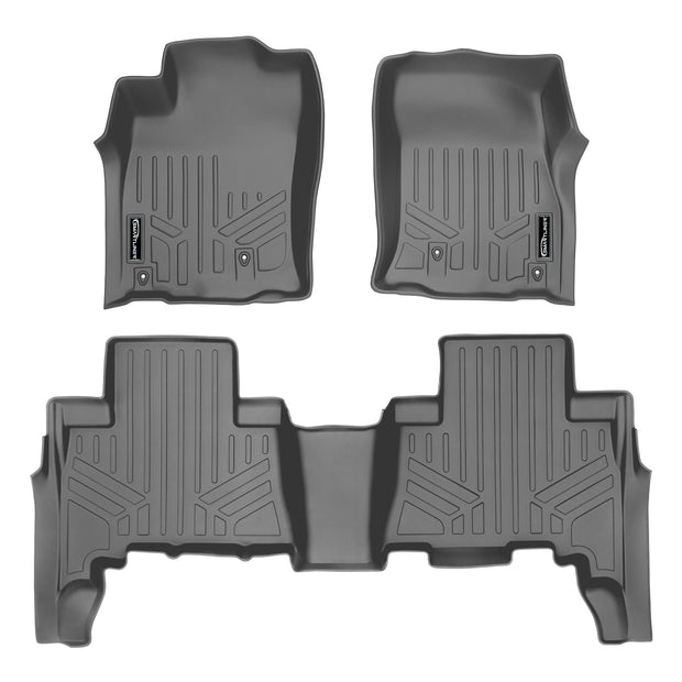 SMARTLINER Custom Fit for 2010-2012 Toyota 4Runner (5 Passenger without Sliding Rear Tray) - Smartliner USA