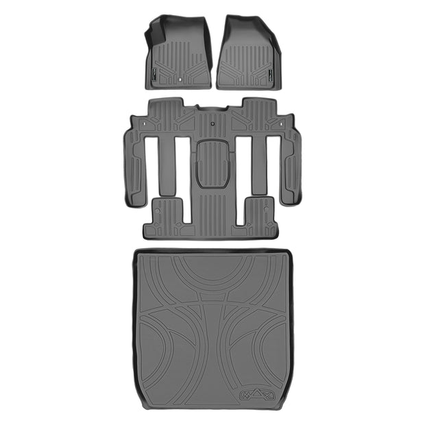 SMARTLINER Custom Fit for Traverse/Enclave with 2nd Row Bucket Seats