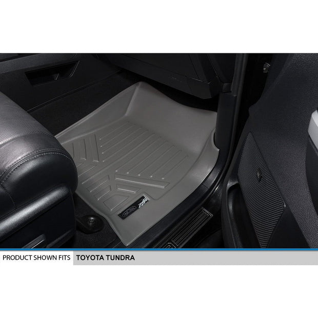 SMARTLINER Custom Fit for 2014-2020 Toyota Tundra Double Cab (with Coverage Under 2nd Row Seat) - Smartliner USA