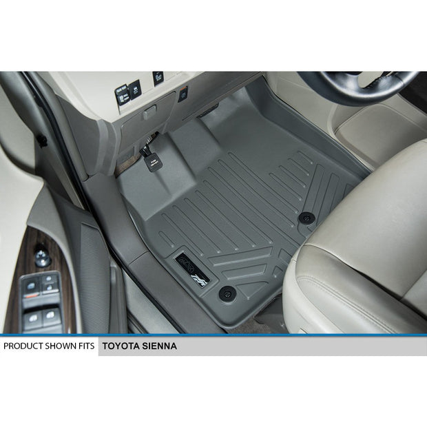 SMARTLINER Custom Fit for 2013-2020 Toyota Sienna (8 Passenger Model) - Smartliner USA
