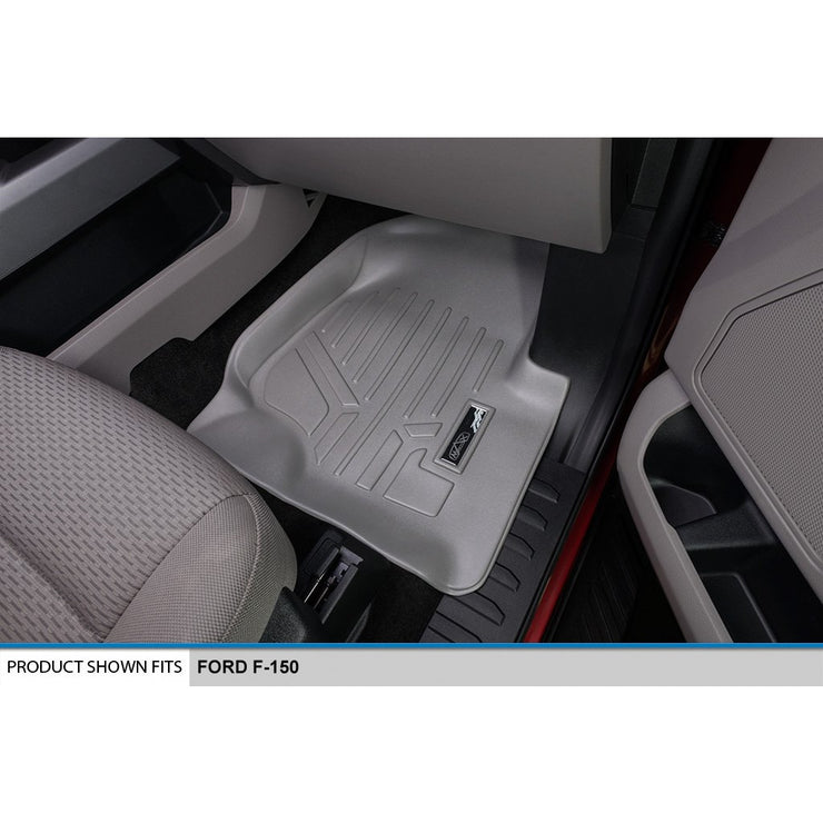 SMARTLINER Custom Fit for 2015-2019 Ford F-150 SuperCrew Cab with 1st Row Bucket Seats - Smartliner USA