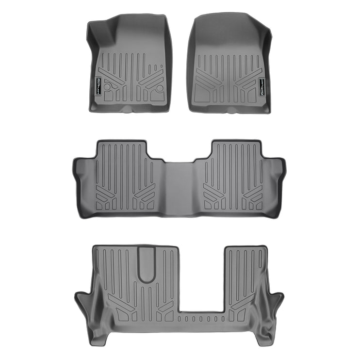SMARTLINER Custom Fit for 2020 Cadillac XT6 with 2nd Row Bench Seat - Smartliner USA