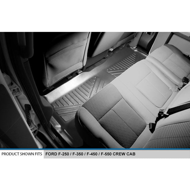 SMARTLINER Custom Fit for 2012-16 F-250/F-350/F-450 Super Duty Crew Cab with Raised Drivers Side Pedal - Smartliner USA
