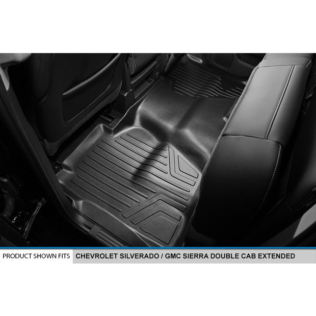 SMARTLINER Custom Fit for Double Cab 2014-2018 Silverado/Sierra 1500 - 2015-2019 2500/3500 HD - Smartliner USA