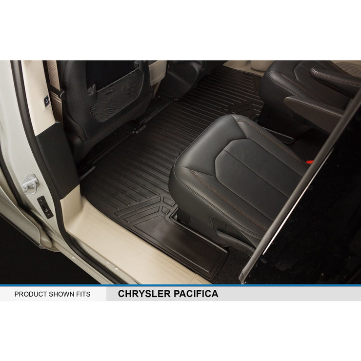 SMARTLINER Custom Fit for 2017-2019 Pacifica 7 Passenger Model (No Hybrid) - Smartliner USA