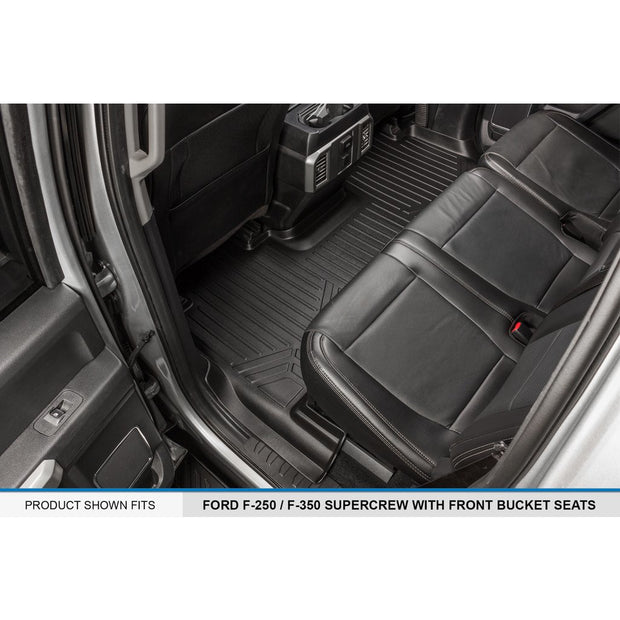 SMARTLINER Custom Fit for 2017-2019 Ford F-250/F-350 Super Duty Crew Cab with 1st Row Bucket Seats - Smartliner USA