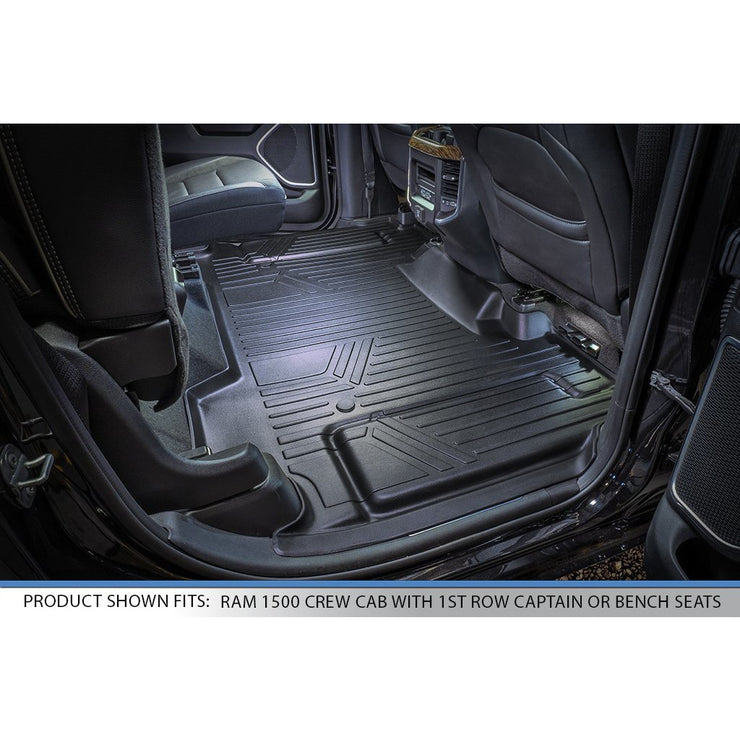 SMARTLINER Custom Fit for 2020 Ram 1500 Crew Cab without Rear Underseat Storage Box - Smartliner USA