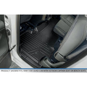 SMARTLINER Custom Fit for 19-20 Ram 1500 Quad Cab Vinyl Floor without Rear Underseat Storage Box - Smartliner USA