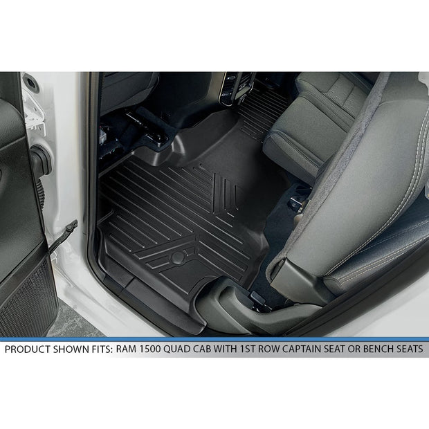 SMARTLINER Custom Fit for 2020 Ram 1500 Quad Cab without Rear Underseat Storage Box - Smartliner USA