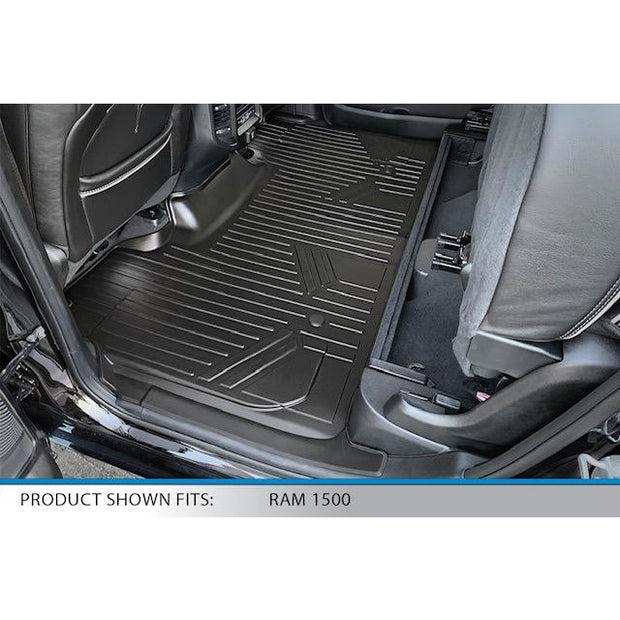 SMARTLINER Custom Fit for 19-2020 Ram 1500 Quad Cab with Front Row Bench Seat Only (No Optional Underseat Storage) - Smartliner USA