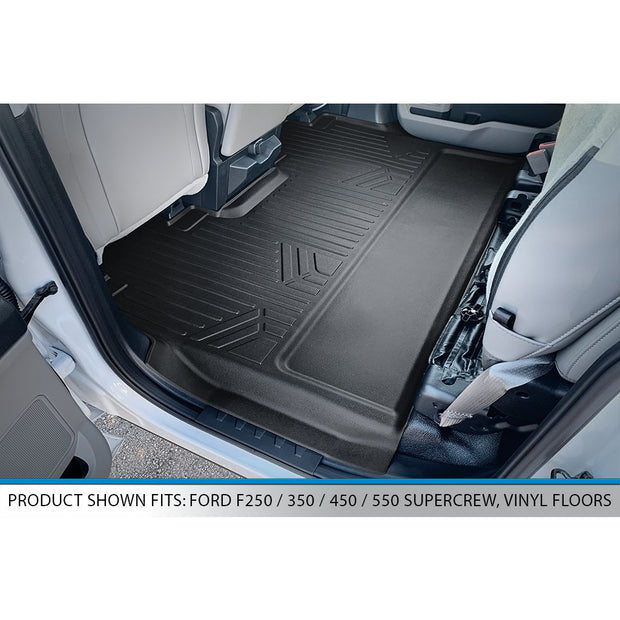 SMARTLINER Custom Fit for 2017-2020 Super Duty Crew with Vinyl Flooring and 2nd Row Bench Seat