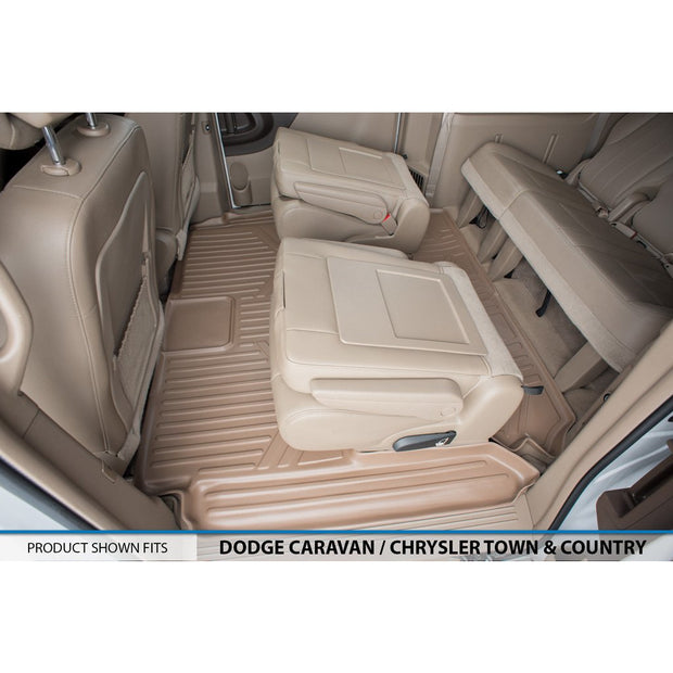 SMARTLINER Custom Fit for 2008 2019 Caravan/Town & Country (Stow'n Go Only) - Smartliner USA