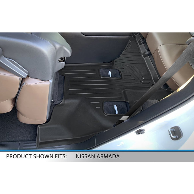 SMARTLINER Custom Fit for 2019-2020 Infiniti QX80/Nissan Armada With Bucket Seats & Center Console Only - Smartliner USA