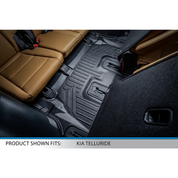 SMARTLINER Custom Fit for 2020-2021 Kia Telluride with 2nd Row Bucket Seats No Center Console and No In Between Coverage