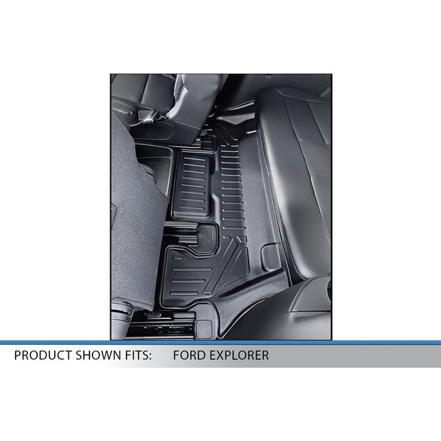 SMARTLINER Custom Fit For for 2020 Ford Explorer - Smartliner USA