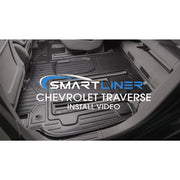 SMARTLINER Custom Fit for Traverse/Enclave/Acadia/Outlook (with 2nd Row Bench Seat)