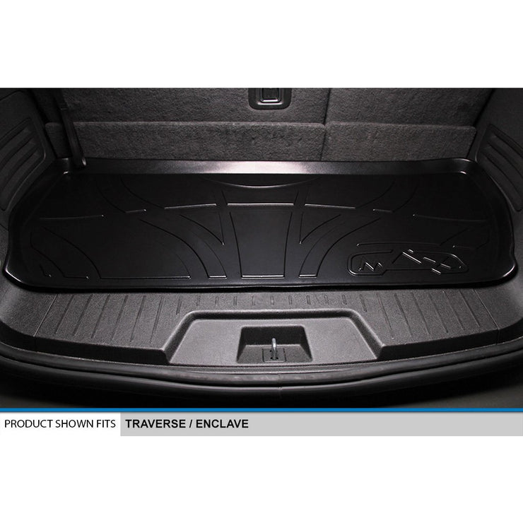 SMARTLINER Custom Fit for Traverse/Enclave/Acadia/Outlook (with 2nd Row Bench Seat) - Smartliner USA