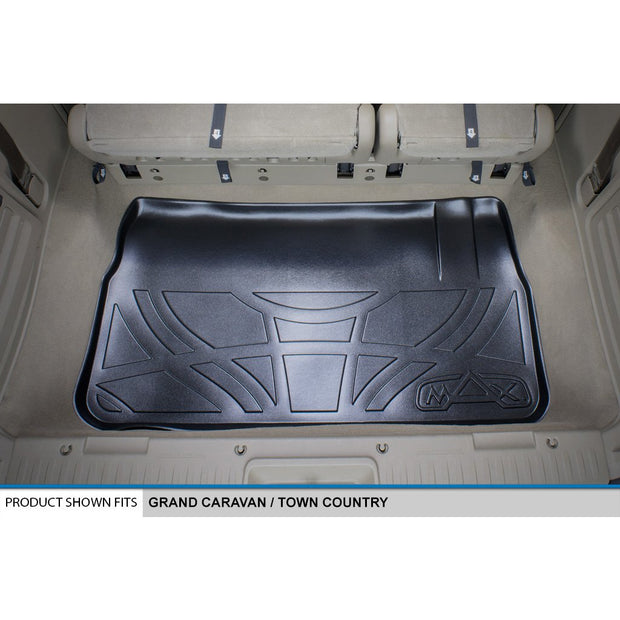 SMARTLINER Custom Fit for 2008 19 Caravan/Town & Country (with 2nd Row Bench Seat) - Smartliner USA