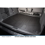 SMARTLINER Custom Fit for 2011-2012 Sienna (8 Passenger Model with Power Folding 3rd Row Seats) - Smartliner USA