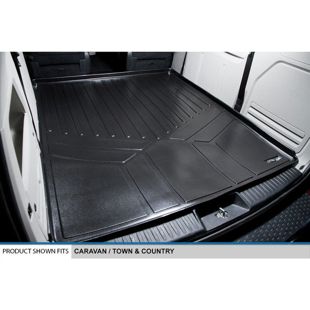 SMARTLINER Custom Fit for 2008 2019 Caravan/Town & Country with 2nd Row Bench Seat - Smartliner USA