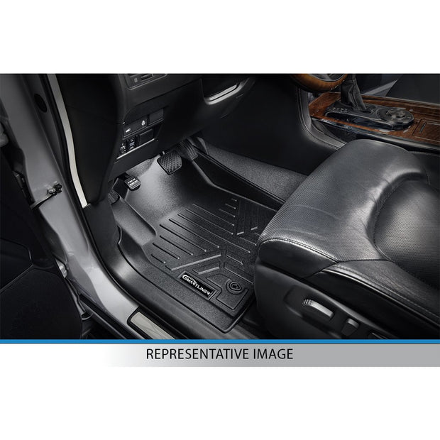 SMARTLINER Custom Fit for 2015-2019 Ford F-150 Regular Cab with Bucket Seats & Vinyl Flooring - Smartliner USA